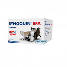 image of VetPlus Synoquin EFA Cats 90 Capsules/ Joint Care Supplement
