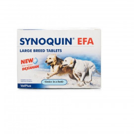 image of SYNOQUIN TASTY EFA Joint Care Supplement For Large Dogs 120 Tablets