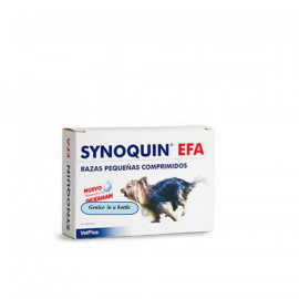 image of VetPlus Synoquin Tasty EFA Small Dogs 90 Tablets/ Joint Care(Under 10kg)