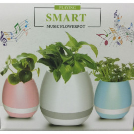 image of Smart Music Flowerpot Speaker K3 Intelligent Touch Plant Piano Music Flower Pot