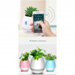 Smart Music Flowerpot Speaker K3 Intelligent Touch Plant Piano Music Flower Pot