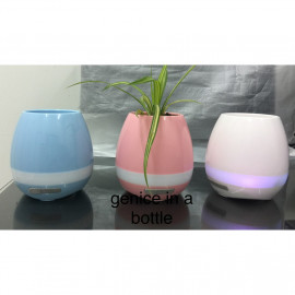 image of Intelligent Decorative Wireless Smart Music Flowerpot K3 With Colorful LED Light