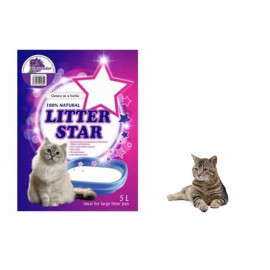 image of PROMOTION !! Litter Star Crystal Cat Litter 5L X 3 ( Mix 3 Scients)