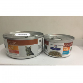 image of Hill's® Prescription Diet® K/D® Feline Wet Food 156g & 82 G COMBO SET