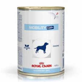 image of Royal Canin Vet Diet Canine Mobility C2P + Canned Wet Food 12 X 400g