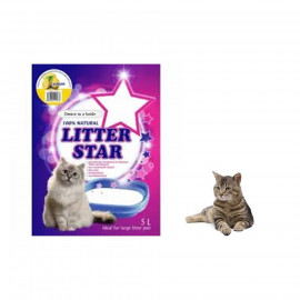 image of Litter Star Crystal Cat Litter 5 L ~(5 Scientifically) Per Bag
