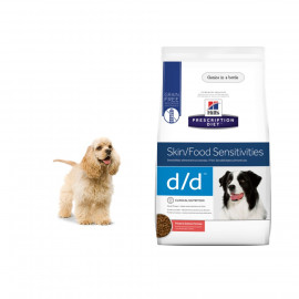 image of READY STOCK~Hills D/D Skin Support~Potato & Salmon Dog Food 3.63 KG