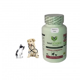 image of VetriScience Cardio - Strength FOR Dog & Cat -60 Capsules/ SUPPLEMENT