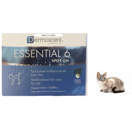 image of READY STOCK~Dermoscent® Essential 6® Spot-On For Cats 4 Pippetts/ Skin & Coats