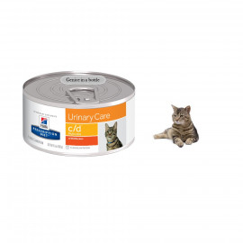 image of Hill's® Prescription Diet® C/D® Multicare Feline With Chicken 156g X 24