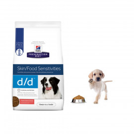 image of Hill's Prescription Diet® D/D® Skin Support Potato & Salmon 7.98KG Dry For Dog