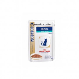 image of 12x Royal Canin Renal Feline With Tuna 85G