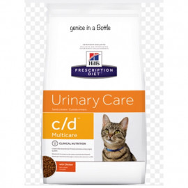 image of READY STOCK ~ Hill's® Prescription Diet® C/D® Multicare Feline With Chicken 6 Kg