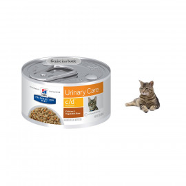 image of Hill's® C/D® Multicare Feline ( Chicken With Vegie) 24 Cans X 82g