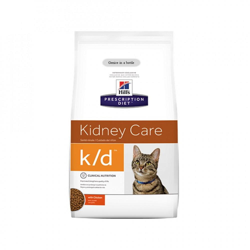 Ready Stock ~Hill's® Prescription Diet® K/D® Feline 1.8KG For Cats