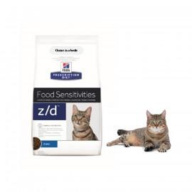 image of Hill's Prescription Diet Z/D Skin/Food Sensitivities Cat Food1.8 KG ( pre order)
