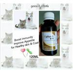 UPHAVIT Multivitamin For Cat/Dog 120ml With Syringe
