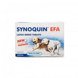 image of SYNOQUIN EFA Large Dogs 120 Capsules Joint Care Supplement (Over 25 Kg)