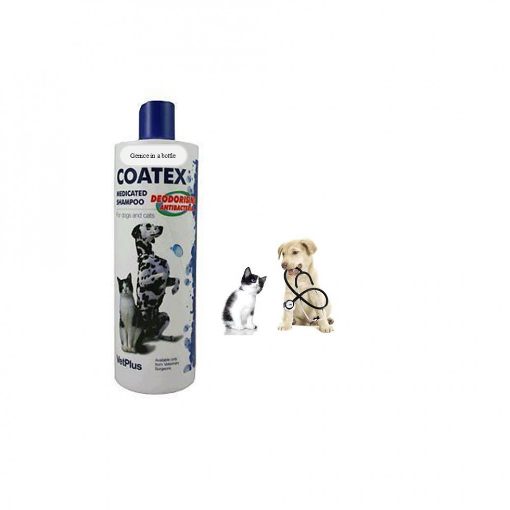 VetPlus COATEX Medicated Shampoo 250ml For Cats/Dogs