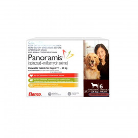 image of Panoramis For Extra Large (Brown) Dogs Between 27.1-54kg/ Control Fleas
