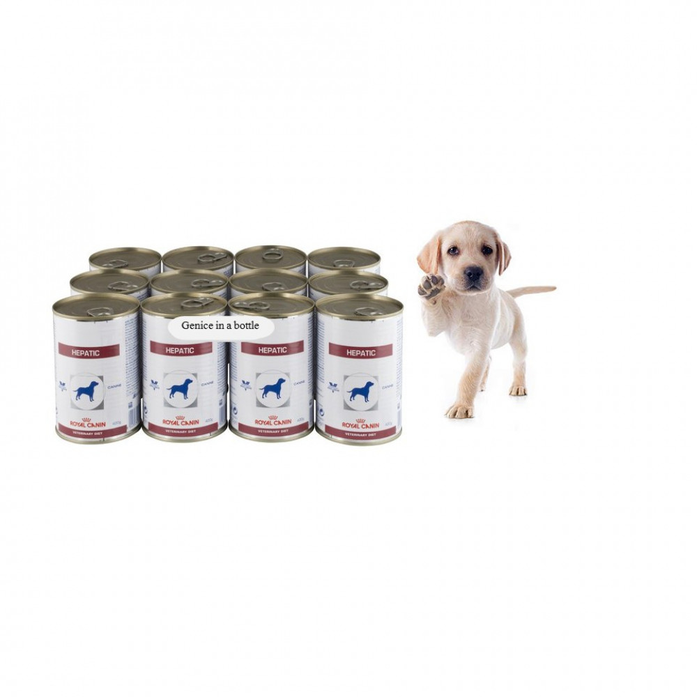 Royal Canin Veterinary Diets Hepatic Canned Dog Food 12 X 420G