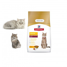 image of Hill's Adult Urinary Hairball Control Chicken For Cats 1.58kg