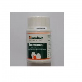 image of Himalaya Immunol Vet Tablets 60'S ( Immune Support) COMBO -2 Bottles