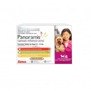 image of READY STOCK! ! Comfortis Plus Pink For Extra Small Dogs 6Tabs/Box (Control Flea)