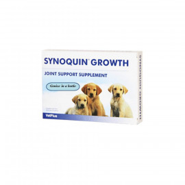image of Synoquin Growth Tablets For Dogs 60'S/Support Puppies Rapid Growth
