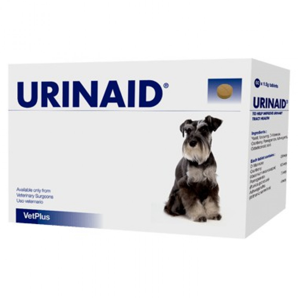 VetPlus Urinaid / Healthy Bladder For Dogs (15 Tablets/60 Tablets)