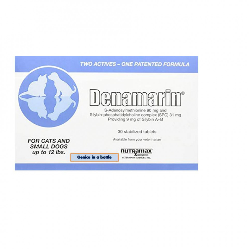 Denamarin 90mg For Dogs & Cats/Nutritional Support For The Liver (Under 5.4kg)