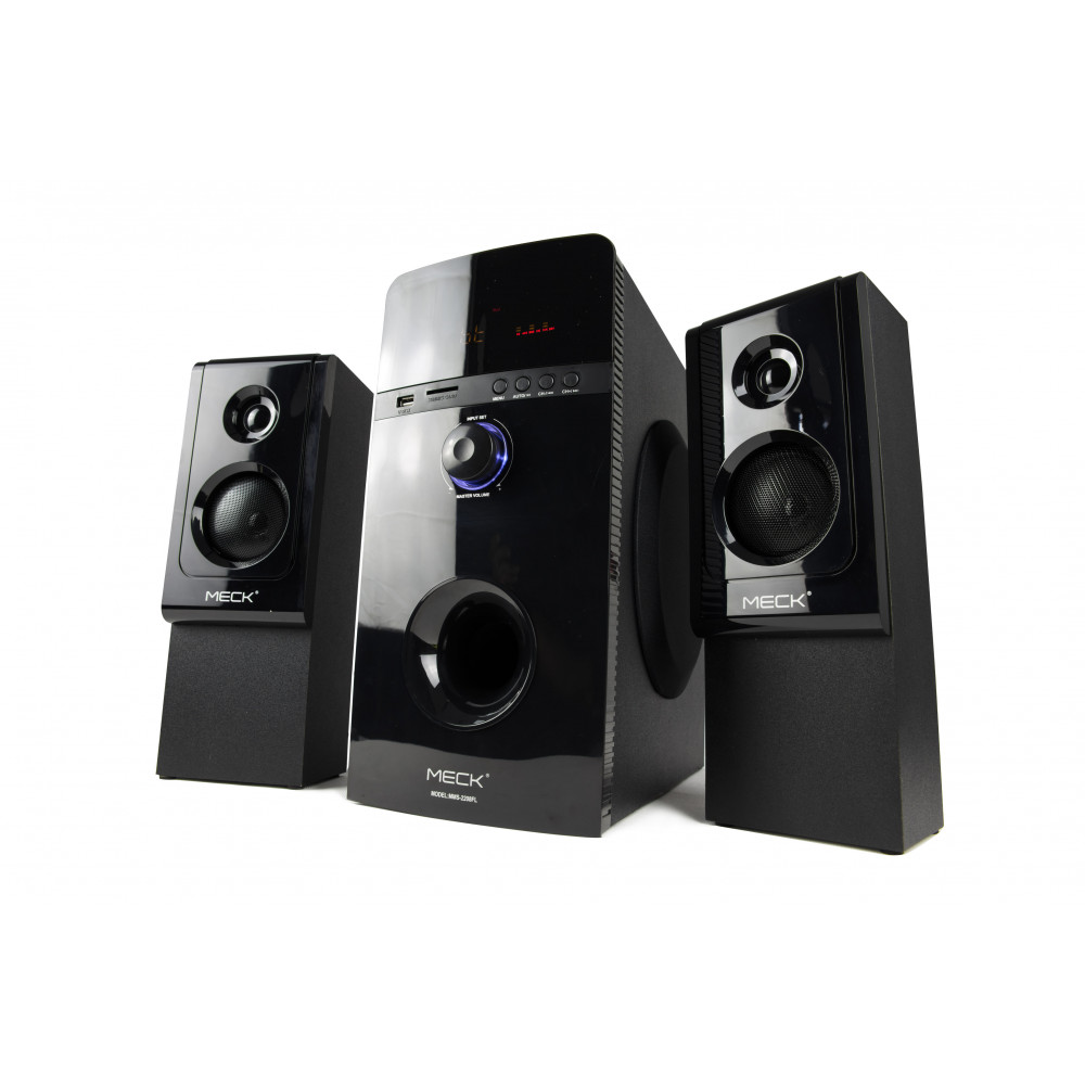 Meck Multimedia Speaker 800W USB/MMC CARD/FM/AM TUNER MMS 2208 FL