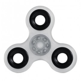 image of LUMINOUS HAND SPINNER PRESSURE REDUCING TOY -