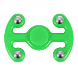 image of NOVELTY FIDGET HAND SPINNER FINGER TOY FOR ADULTS AND KIDS (GREEN) 9.50 x 6.50 x 2.20 cm
