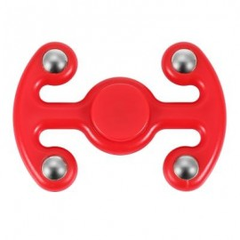 image of NOVELTY FIDGET HAND SPINNER FINGER TOY FOR ADULTS AND KIDS (RED) 9.50 x 6.50 x 2.20 cm