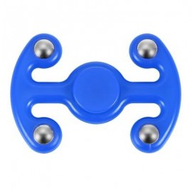 image of NOVELTY FIDGET HAND SPINNER FINGER TOY FOR ADULTS AND KIDS (BLUE) 9.50 x 6.50 x 2.20 cm