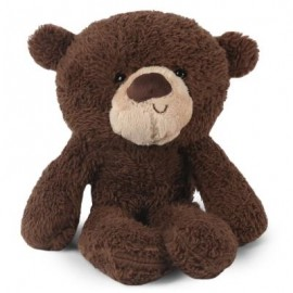 image of STUFFED CUTE PLUSH DOLL TOY BIRTHDAY CHRISTMAS GIFT (DEEP BROWN) -