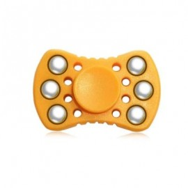 image of ABS ADHD FIDGET SPINNER WITH R188 BEARING STRESS RELIEF TOY RELAXATION GIFT FOR ADULTS (ORANGE) -
