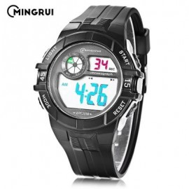image of MINGRUI MR - 8583108 CHILDREN DIGITAL LED WATCH (WHITE) 0