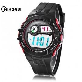 image of MINGRUI MR - 8583108 CHILDREN DIGITAL LED WATCH (RED) 0