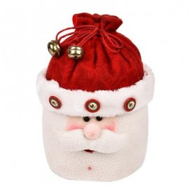 image of LOVELY CHRISTMAS GIFT BOX BAG NOVELTY ORNAMENT FOR HOLIDAY PARTY (COLORMIX, SANTA CLAUS) Santa Claus