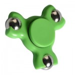 STRESS RELIEF TOY TRIANGLE BALL BEARING FIDGET SPINNER (GREEN) -