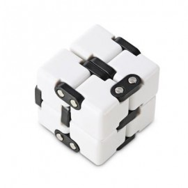 image of CREATIVE SOLID CUBE 3D PUZZLE INFINITE DEFORMATION DICE TOY (COLORMIX) -