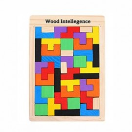 image of TETRIS BLOCK INTELLIGENCE PUZZLE (COLORMIX) 0
