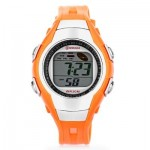 MINGRUI 8505 KIDS DIGITAL MOVT WATCH LED LIGHT DATE DAY CHRONOGRAPH DISPLAY 3ATM WRISTWATCH (SWEET ORANGE) 0