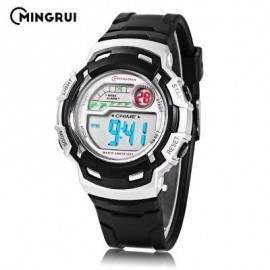 image of MINGRUI MR - 8582033 CHILDREN DIGITAL LED WATCH (BLACK) 0