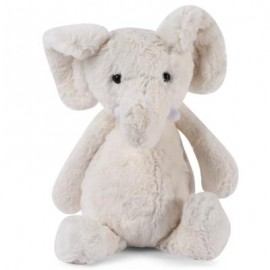 image of STUFFED CUTE ELEPHANT PLUSH DOLL TOY GIFT FOR BABY (OFF-WHITE) -