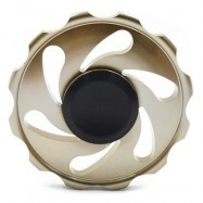 image of STRESS RELIEF FIDDLE TOY WHEEL FINGER SPINNER (GOLDEN) -