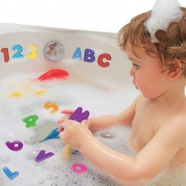 image of ALPHABET SWIMMING AND BATH TOYS (MIXCOLOR) 0