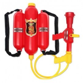 image of WATER FIGHT NOZZLE BACKPACK FIRE GUN TOYS (RED) 0